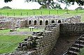 The Baths located outside the fort, considered as the best-preserved Roman military building in Britain, Chesters Roman Fort (Cilurnum), Hadrian's Wall (44705870592).jpg