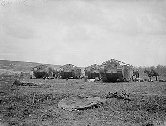 Battle of Flers–Courcelette - Image: The Battle of the Somme, July november 1916 Q5576