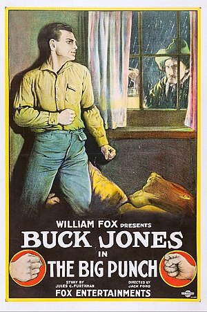 The Big Punch - Theatrical poster for The Big Punch (1921)