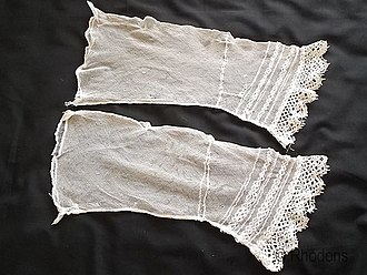 Victorian fashion - Engageants