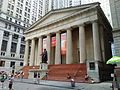 The Federal Hall National Memorial - Wall and Broad Streets ( New York City,,).jpg