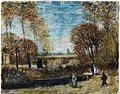 The Garden of the Vicarage at Nuenen by Vincent van Gogh, 1885, watercolor.jpg