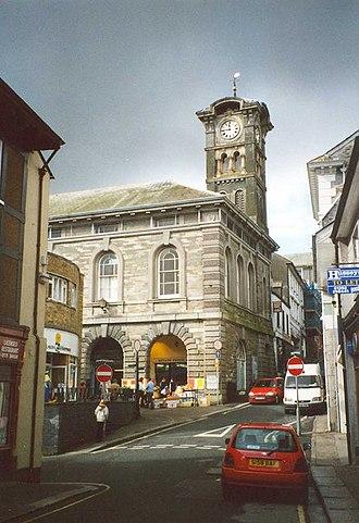 Liskeard - Image: The Guildhall, Market Street, Liskeard geograph.org.uk 666030