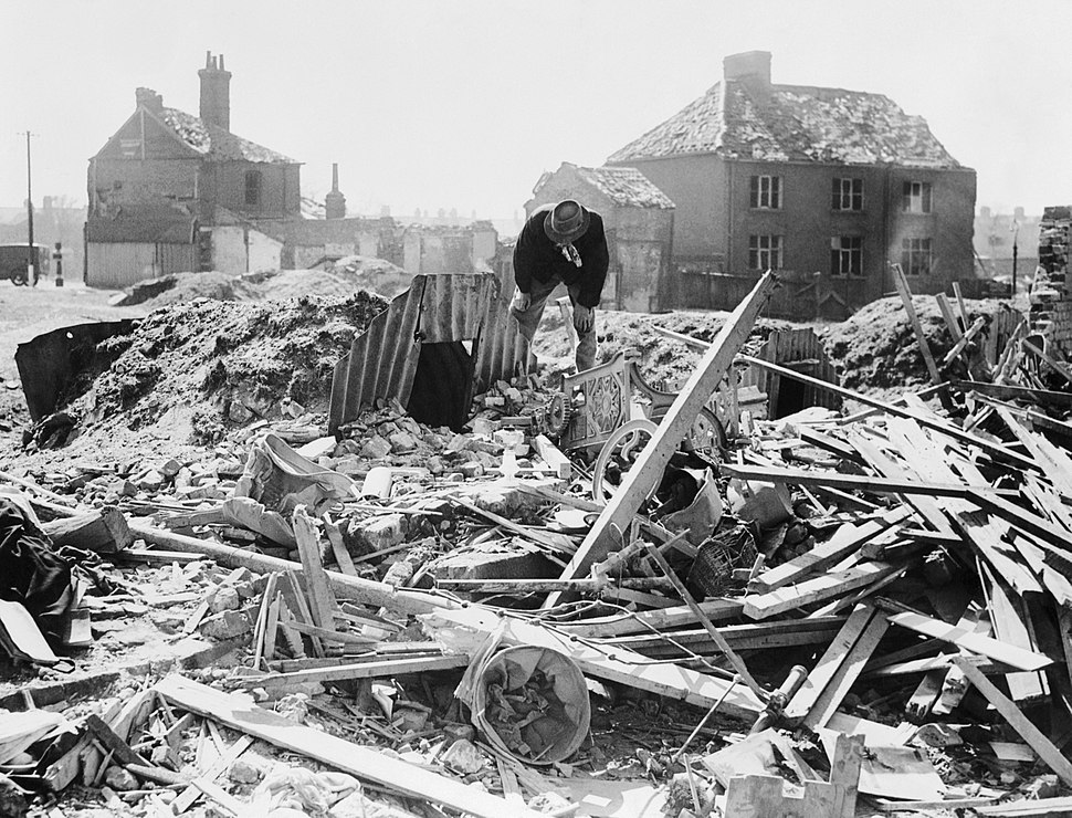 The Home Front in Britain during the Second World War HU36196