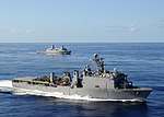 The Iwo Jima Expeditionary Strike Group steams through the Atlantic DVIDS114203.jpg