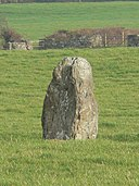 The Llanynghenedl Standing Stone, Anglesey. - geograph.org.uk - 110758.jpg