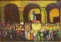 The Ludwigskirche in Munich, by Wassily Kandinsky, 1908 AD, oil on cardboard - Museo Nacional Centro de Arte Reina Sofía - DSC08734.JPG