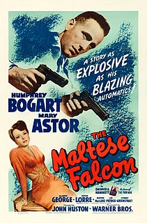 <i>The Maltese Falcon</i> (1941 film) 1941 film by John Huston