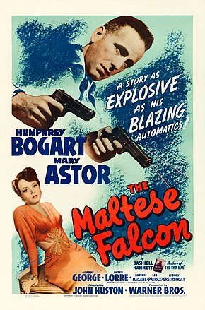 Description de l'image The Maltese Falcon (1941 film poster).jpg.