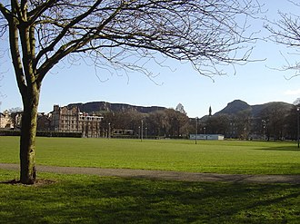 Edinburgh derby - The Meadows, where the first Edinburgh derby was played