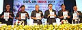 The Minister of State for Defence, Dr. Subhash Ramrao Bhamre releasing the DEFCOM INDIA 2017 journal, in New Delhi.jpg