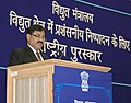 The Minister of State of Power, Shri Bharatsinh Solanki addressing the National Awards ceremony for Meritorious Performance in Power Sector, in New Delhi on January 29, 2010.jpg