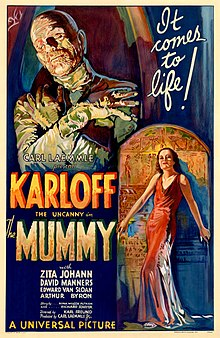 "Poster from ""The Mummy"""