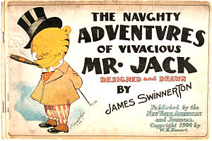 Jimmy Swinnerton - File:The Naughty Adventures of Vivacious Mr. Jack cover (1904)