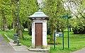 The Pittencrieff Park old telephone box, Dunfermline, Fife.jpg
