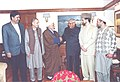 The Prime Minister Shri Atal Bihari Vajpayee meets the Hurriyat leaders in New Delhi on January 23, 2004.jpg
