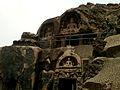 The Rock cut caves at Bojjannakonda, Sankaram, Andhra Pradesh.jpg