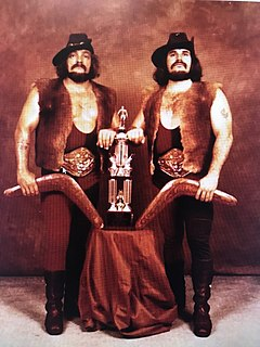The Royal Kangaroos Professional wrestling tag team