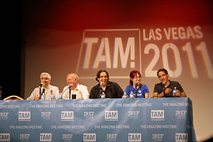 The Skeptics' Guide to the Universe - The SGU crew during TAM9 in Las Vegas 2011