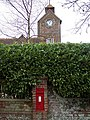 The Tower at Tower House with Post Box - geograph.org.uk - 312774.jpg