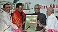 "The Vice President, Shri Bhairon Singh Shekhawat presenting the ""Bharat Asmita National Award-2007"" to the noted Film Maker, Shri Rajkumar Hirani, in New Delhi on February 03, 2007.jpg"