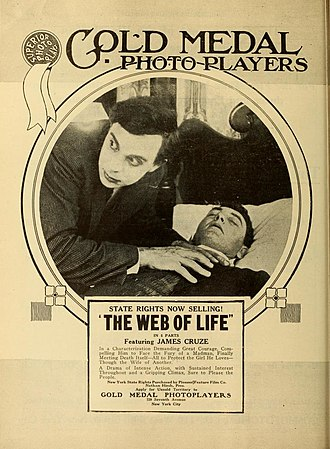 James Cruze - Cruze in The Web of Life (1917)