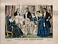 The death of President Andrew Jackson in Washington, 1845. C Wellcome V0006888.jpg