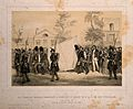 The funeral of the Duc d'Orleans at Paris. Lithograph by J. Wellcome V0006936.jpg