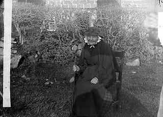 The mother of John Jones (Myrddin Fardd, 1836-1921)