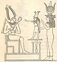 The Archetyped CosmoGenesis of the Human Metamorphosis  - Page 3 220px-The_mythological_Trinity_or_Triad_Osiris_Horus_Isis