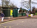 The new loo and kiosks at the Putney Green Man bus terminus. - geograph.org.uk - 1770378.jpg