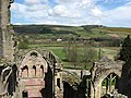 The ruins of Melrose Abbey - geograph.org.uk - 784927.jpg