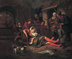 Jan Steen: Wine is a Mocker