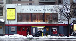 Theater for the New City - Theater for the New City has been located in a former New York City retail market at 155 First Avenue since 1986