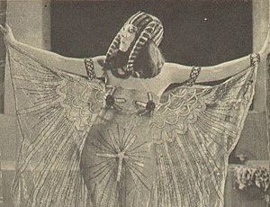 Cleopatra as portrayed by Theda Bara in the 19...