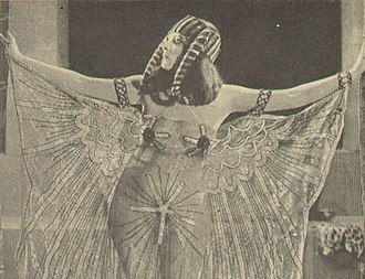 1917 in film - Theda Bara as Cleopatra