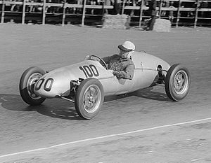 Charles Cooper (motor manufacturer) - Theo Helfrich drives his new Mark VIII Cooper 500 in 1954