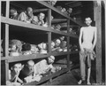 These are slave laborers in the Buchenwald concentration camp near Jena, many had died from malnutrition when U.S. troop - NARA - 535561.tif