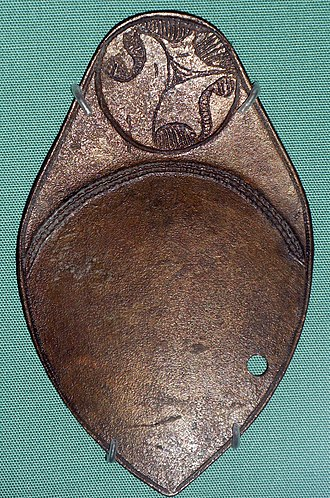 "Ancient Celtic religion - One of a pair of British ""divining spoons"""