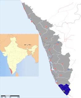 Thiruvananthapuram district District of Kerala in India