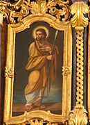 Apostle Thomas with a spear
