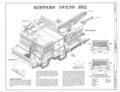 Thomas Coke Ovens 1952 - Thomas By-Product Coke Works, 1200 Tenth Street West, Thomas, Jefferson County, AL HAER ALA,37-THOS,6- (sheet 4 of 7).png
