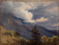 Thomas Fearnley - View from Grindelwald in Switzerland - Fra Grindelwald, Sveits - Nasjonalmuseet - NG.M.00386.png
