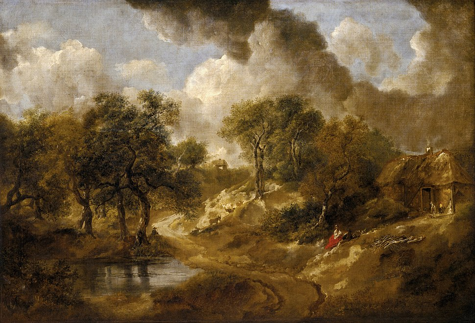 Thomas Gainsborough - Landscape in Suffolk - Google Art Project