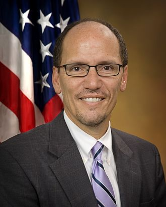 Tom Perez - Perez's official Justice Department portrait