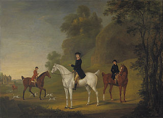 Lord Bulkeley and his Harriers, his Huntsman John Wells and Whipper-In R. Jenning