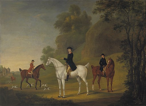 Thomas Stringer - Lord Bulkeley and his Harriers, his Huntsman John Wells and Whipper-In R. Jennings - Google Art Project