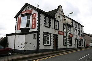 Abercynon - Image: Thorn Hotel Abercynon