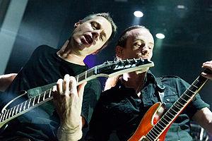 Threshold (band) - Karl Groom and Pete Morten, 2015