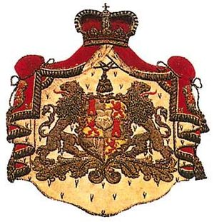Lamoral II Claudius Franz, Count of Thurn and Taxis -  Thurn and Taxis coat of arms